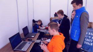 Tarptautinė mokslo mugė džiuginimo jaunimą įvairių technologijų gausa