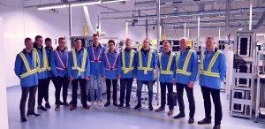 """Būsimų elektronikos inžinerijos specialistų iš KTU vizitas UAB """"Littelfuse"""""""