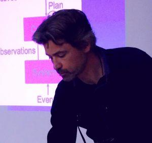 KTU tarptautinis semestras: robotų kelio planavimą pristatė svečias iš Prancūzijos