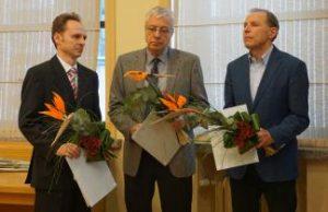 Senato posėdyje pagerbti Lietuvos mokslo premijos laureatai