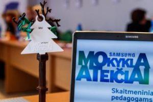 Technologijų taikymas mokyklose – SAMSUNG mokykla ateičiai