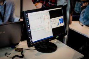 Mobilus pėdos slėgio matavimo įtaisas fiksuos pėdų apkrovos pokyčius