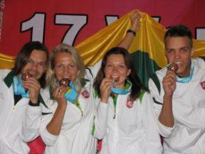 Pasaulinėse radijo orientacinėse varžybose Kazachstane iškovotas auksas