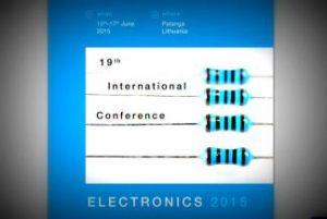 """Tarptautinėje mokslinėje konferencijoje """"Electronics 2015"""" – apie iššūkius versle ir moksle"""