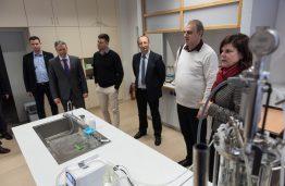Delegacija iš Vengrijos domėjosi KTU partnerystės su verslu pasiekimais