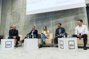 """Universitete vyko """"Nordic Talks"""" renginių ciklo diskusija apie dirbtinį intelektą"""