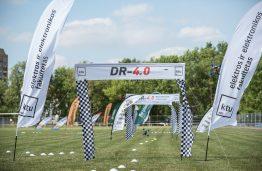 Tarptautinės lenktyninių dronų varžybos DR – 4.0 (DELFI transliacijos įrašas)