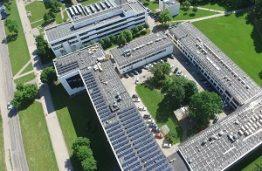 Moderniausia atsinaujinančių energijos šaltinių laboratorijoje Baltijos šalyse ant KTU stogo ir po žeme