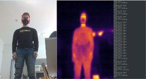 Robotas atpažįst žmogų KTU