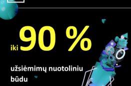 MAGISTRANTŪRA: iki 90 proc. užsiėmimų virtualiai